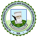 SD Dombo Univ. of Business and Integrated Dev't Studies Logo