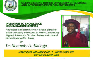 Knowledge Dessimination Seminar