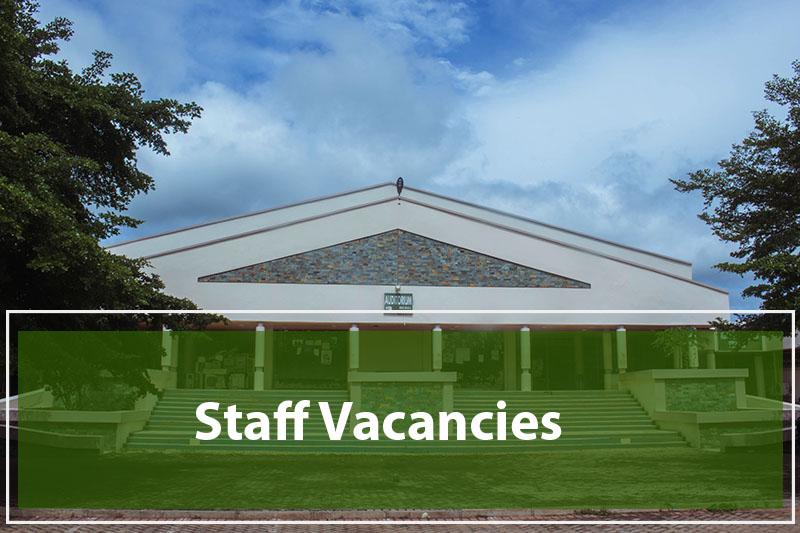 Staff Vacancies_SDD UBIDS