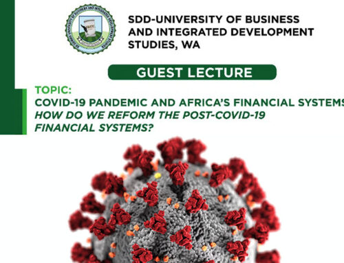 Post COVID-19: Policy actions required to reform Africa's financial systems – Prof. Abor