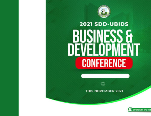 Call for Abstracts 2021 SDD-UBIDS Business And Development Conference
