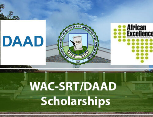 Application for the WAC-SRT/DAAD Scholarships