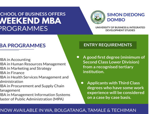 2021/22 School of Business Weekend MBA Applications